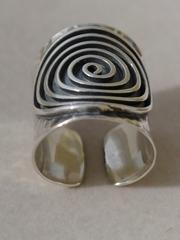 Наутилус ( кольцо из серебра)