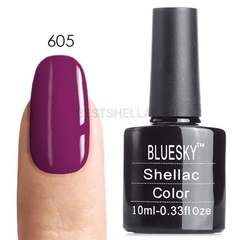 Гель-лак Bluesky № 40605/80605 (LV129) Rouge Rite, 10 мл
