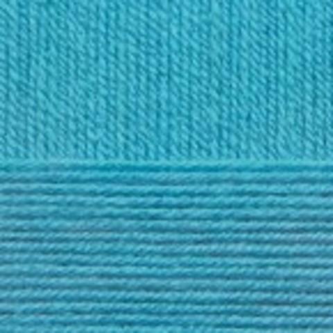 Купить Пряжа Пехорка Детская новинка Код цвета 583-Бирюза | Интернет-магазин пряжи «Пряха»