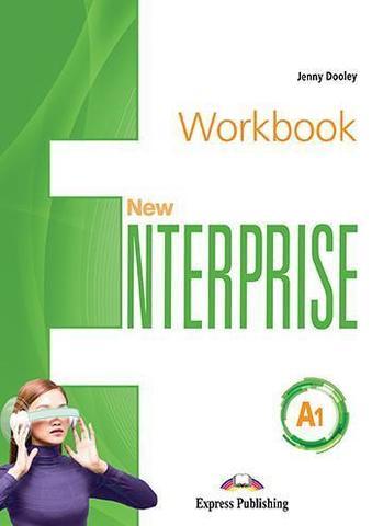 New Enterprise A1. Workbook with digibook app. Рабочая тетрадь (с ссылкой на электронное приложение)