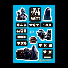 Набор стикеров Love Death + Robots