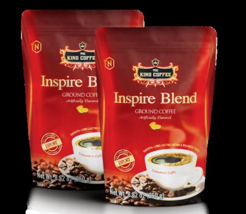 Вьетнамский молотый кофе Inspire Blend King Coffee, 250 гр.