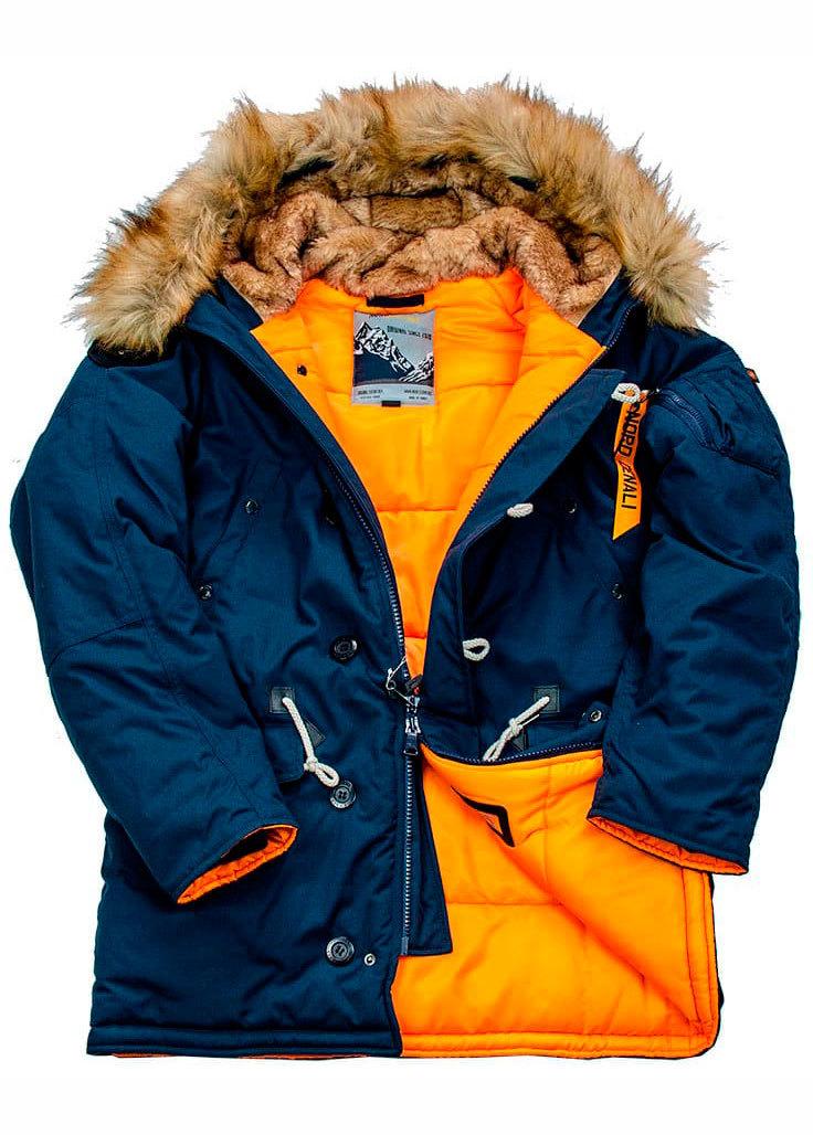 Куртка Аляска  Oxford 2.0 Denali  (синяя - r.blue/orange)
