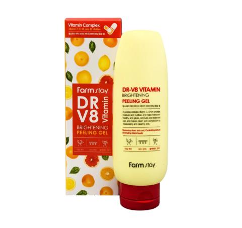 Farm Stay - Пилинг-гель Vitamin DR-V8, 150мл