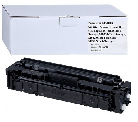 Тонер-картридж Premium 045HBK (1242C002)