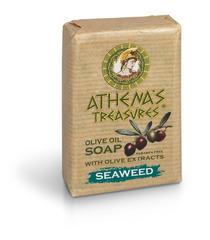Мыло с оливковым маслом Морские водоросли ATHENAS TREASURES 100гр