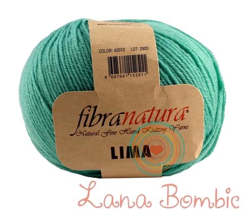 Пряжа FibraNatura Lima 42013 мята