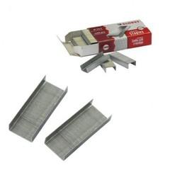 Скобы для степлера №10 Globus оцинкованные (1000 штук в упаковке)