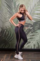 Женские лосины Nebbia One striped leggings 652