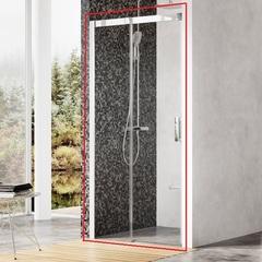 Дверь душевая раздвижная в нишу 110х195 см правая Ravak Matrix MSD2-110 R 0WPD0100Z1 фото