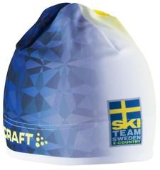 Шапка лыжная сборной Швеции Craft SKI TEAM Thermal Hat