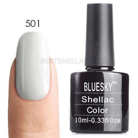 Bluesky Shellac 40501/80501 Гель-лак Bluesky № 40501/80501 (LV004) Cream Puff, 10 мл 501.jpg