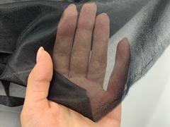 Сетка корсетная черная средне-мягкая