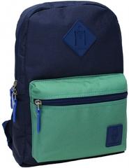Рюкзак Bagland Молодежный mini 8 л. чернильный/зеленый (0050866)
