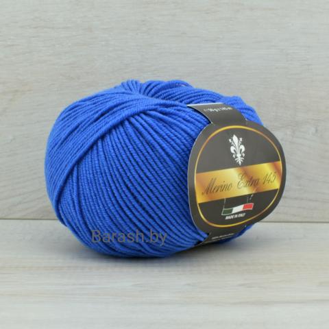 Пряжа Merino Extra 145 (Мерино экстра 145) Светло-синий
