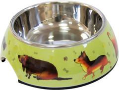 Миска на меламиновой подставке «Собачки» 0,16 л, SuperDesign