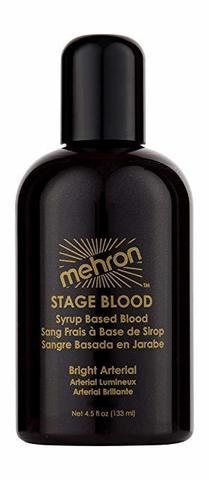 MEHRON Искусственная кровь артериальная Stage Blood - Bright Arterial 4.5oz., 133 мл