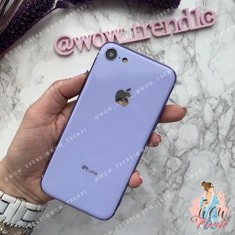 Чехол iPhone 7/8 Glass Silicone Case Logo /glycine/