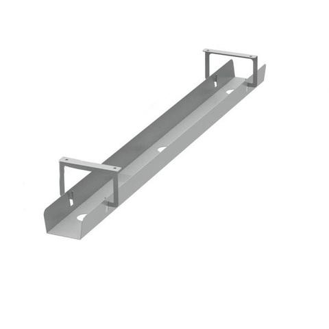 U-tray кабель-канал одинарный горизонтальный откидной