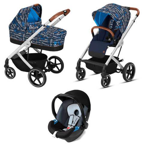 Детская коляска Cybex Balios S 3 в 1 FE Trust
