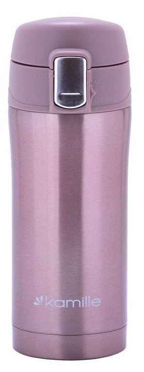 Термос-кружка Kamille 320 мл розовый