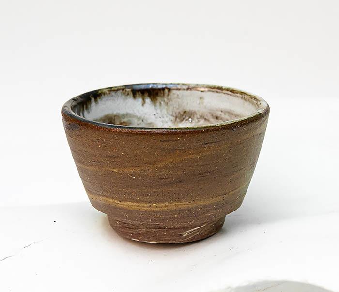CUP109 Глиняная пиала ручной работы
