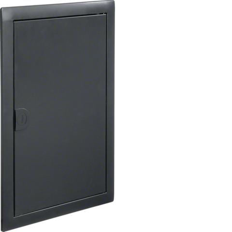 Наружная рамка с дверцей для встраиваемого щитка Volta,2-рядного, RAL7016, антрацит