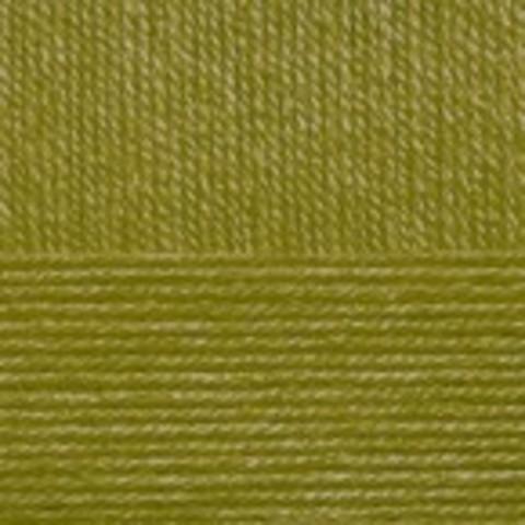 Купить Пряжа Пехорка Детская новинка Код цвета 033-Золотистая олива | Интернет-магазин пряжи «Пряха»