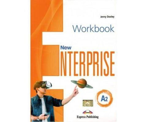 New Enterprise A2. Workbook with digibook app. Рабочая тетрадь (с ссылкой на электронное приложение)