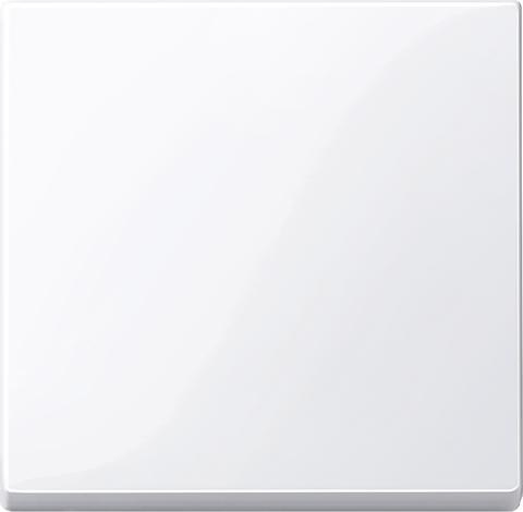 Выключатель одноклавишный клавишный. Цвет Активный белый, блестящий. Merten. MTN3111-0000+MTN432125