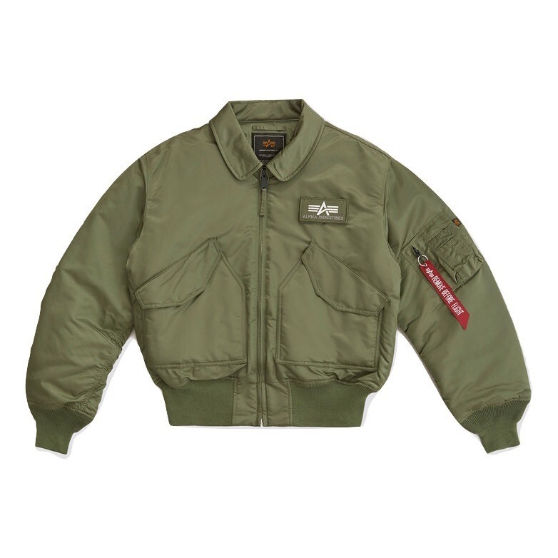 Куртка Alpha Industries CWU 45/P Sage Green (зеленая)