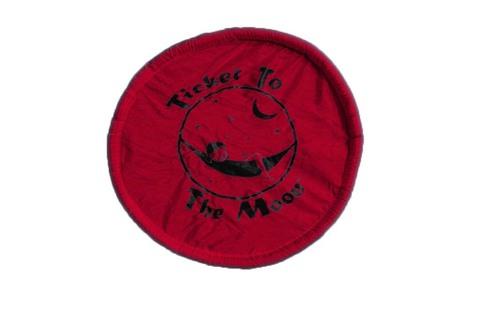 Картинка фризби Ticket to the Moon Pocket Frisbee Red