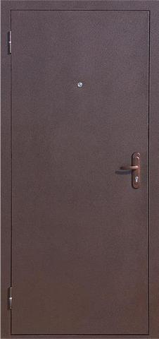 Дверь входная Стройгост 7 стальная, тёмный орех, 2 замка, фабрика СтройГост(Китай)