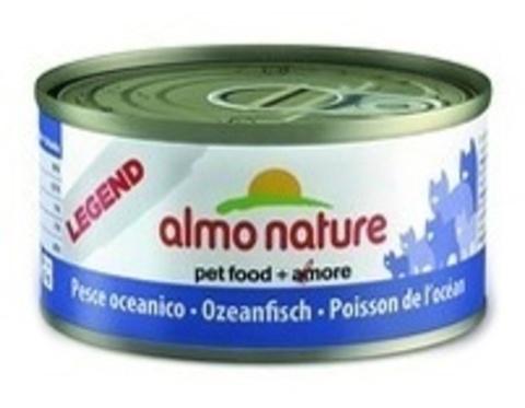 Консервы (банка) Almo Nature Legend Adult Cat Oceanic Fish