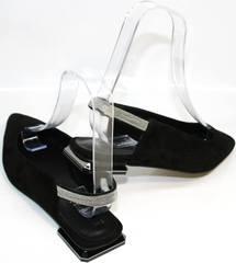 Летние женские туфлии Kluchini 5183 Black.