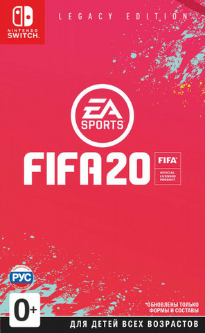 Fifa 20 Legacy Edition (Nintendo Switch, русская версия)