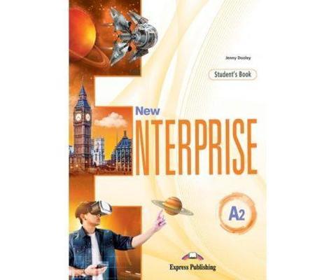 New Enterprise A2. Student's book with digibook app. Учебник (с ссылкой на электронное приложение)