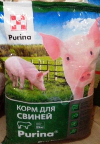 БВМК 15% для свиней ГРОУЭР - ФИНИШЕР 25кг ПУРИНА