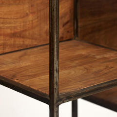 Стеллаж Secret de Maison KREIG (mod. G05716) дерево акация/метaлл, хела/металл натуральный