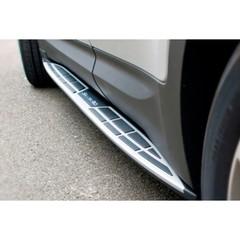 Боковые пороги OE-STYLE, Hyundai Santa Fe (2012+)