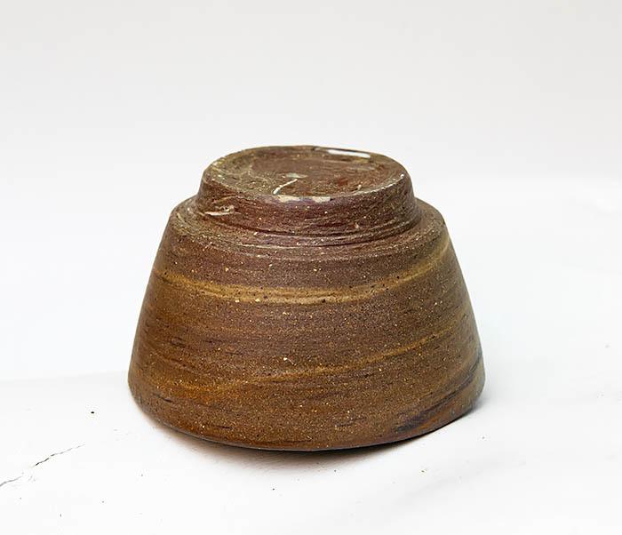 CUP109 Глиняная пиала ручной работы фото 05