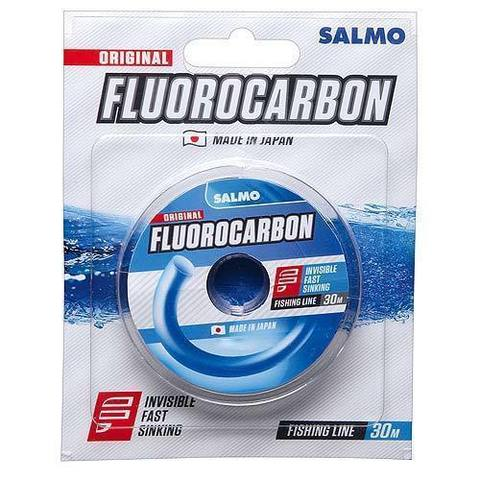 Леска монофильная Salmo FLUOROCARBON 30м, 0,20мм