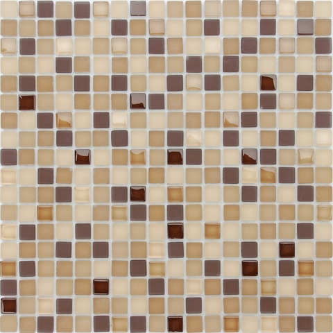 Мозаика стеклянная с камнем Bohemia 15x15x4 305х305
