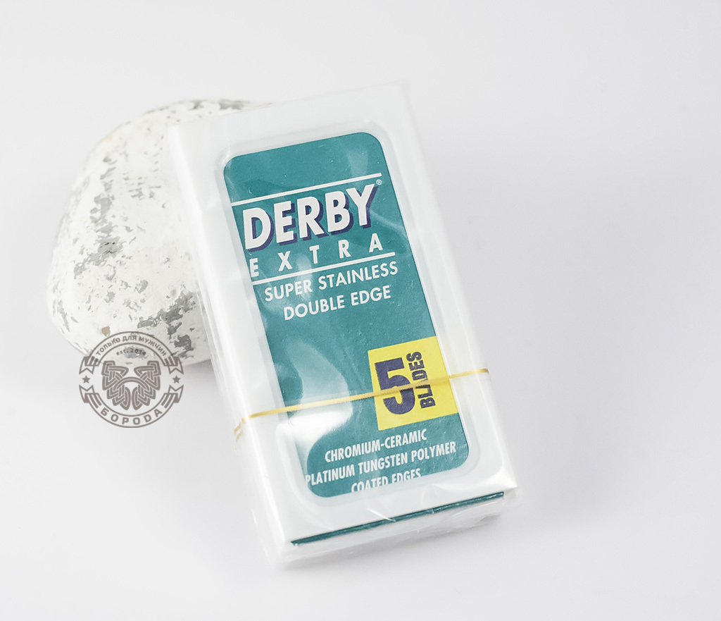 RAZ152 Сменные лезвия Derby Double Edge (5 шт)