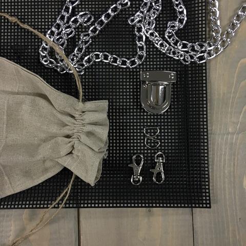 Комплект фурнитуры Baguette - серебро