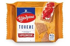 Хлебцы «Щедрые» бородинские тонкие 170г*24 ТУ