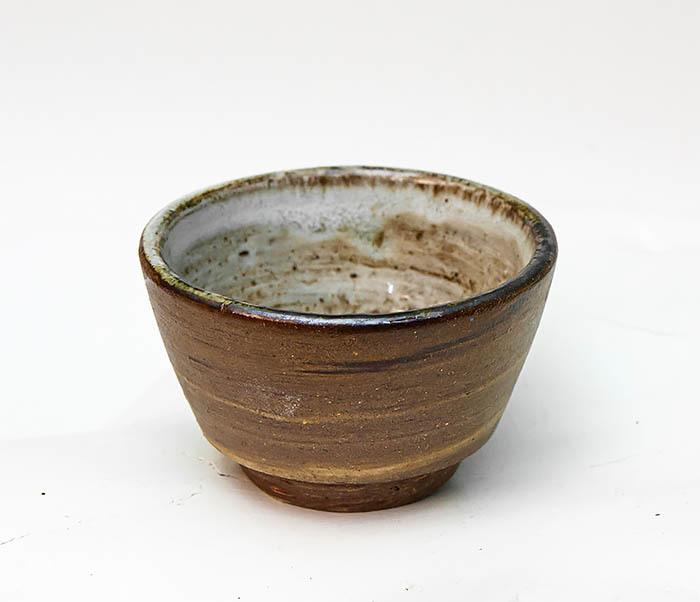 CUP109 Глиняная пиала ручной работы фото 06