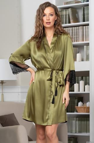Шелковый халат Mia-Amore Olivia 3643 (70% нат.шелк)