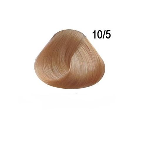Перманентная крем краска для волос Ollin 10/5 светлый блондин махагоновый