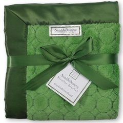 Плед детский SwaddleDesigns Pure Green Puff C
